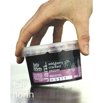 46° North - Jam - Wildberry & Cracked Pepper - 280ml