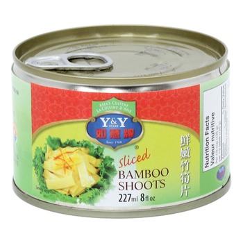 Bamboo Shoots Sliced 227 mL