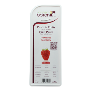 Boiron Raspberry Frozen Puree - 1 kg