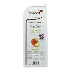 Boiron White Peach Frozen Puree