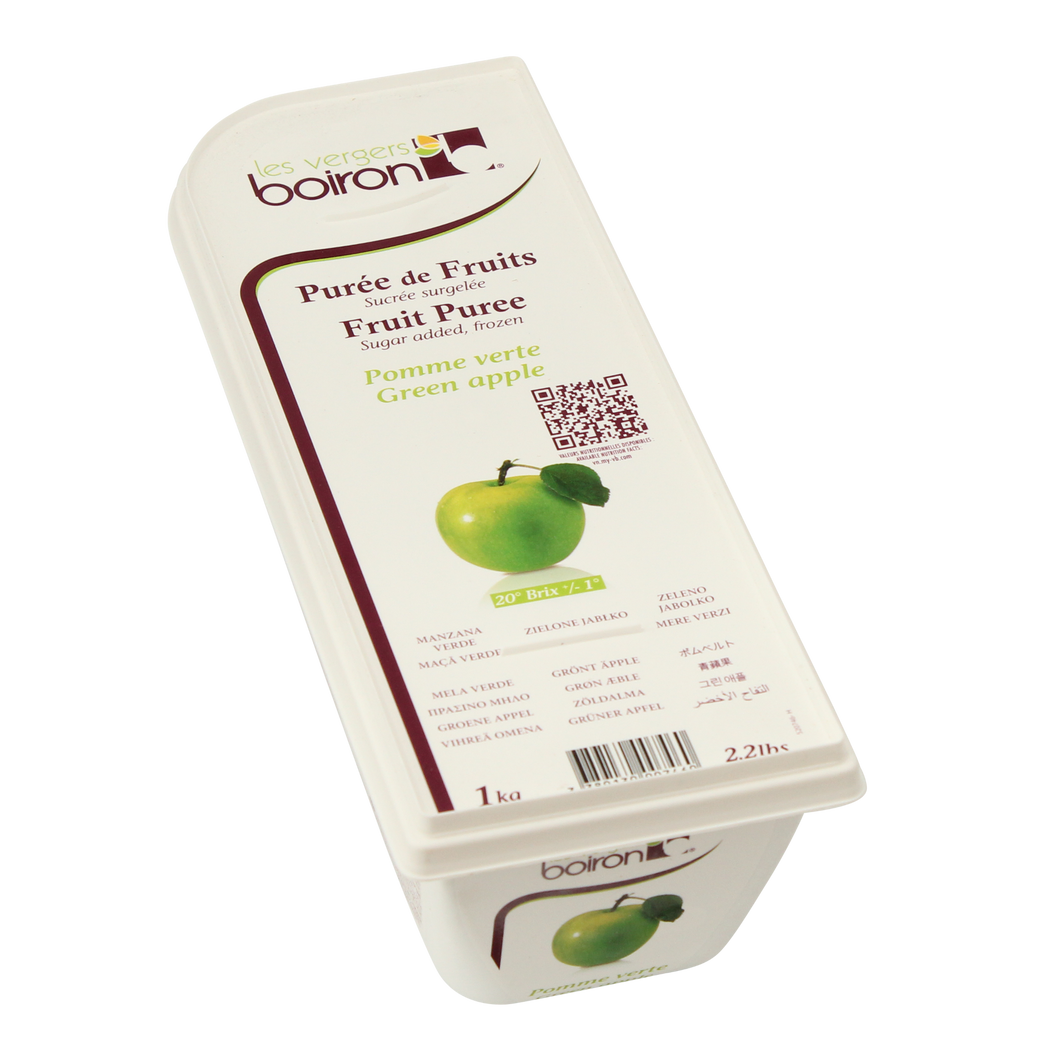 Boiron Green Apple Frozen Puree - 1 kg