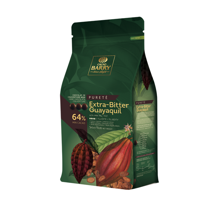 Cacao Barry Dark Guayaquil 64% Pistoles