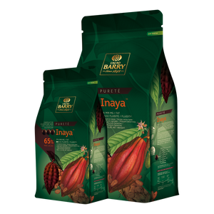 Cacao Barry Inaya Dark Chocolate Pistoles 65%