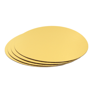 Cake Boards Gold Round 12-Inch