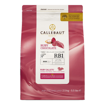 Callebaut Ruby RB1 Callets