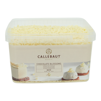 Callebaut White Chocolate Curls