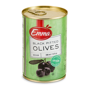 Emma Black Pitted Olives