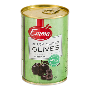 Emma Black Sliced Olives