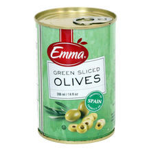Load image into Gallery viewer, Emma Green Sliced Olives