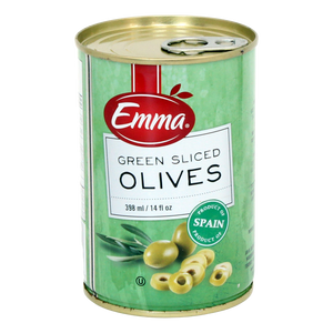 Emma Green Sliced Olives