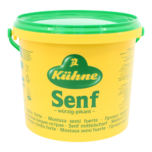 Kuehne Smooth Senf Mustard (Hot)