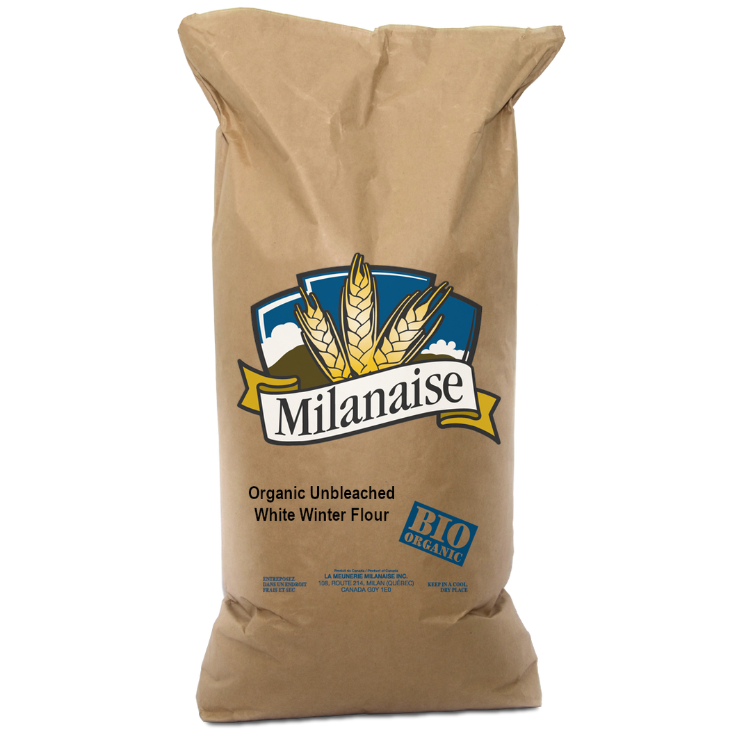 Organic Unbleached White Winter Wheat Flour