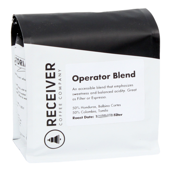Receiver Coffee Operator Blend