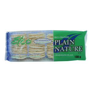 Rice Crackers Plain