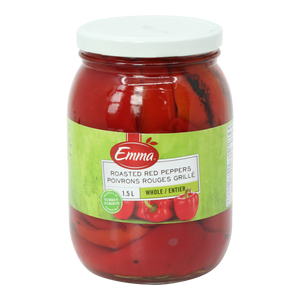 Roasted Red Peppers - Emma (1.5 L)