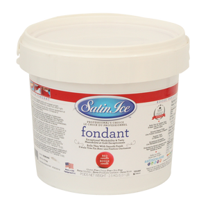Satin Ice Fondant - Red