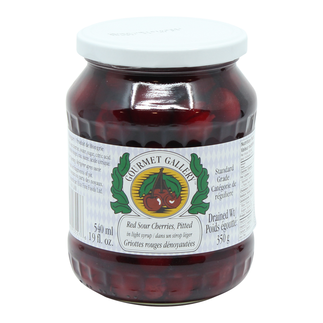 Sour Pitted Cherries (540ml)