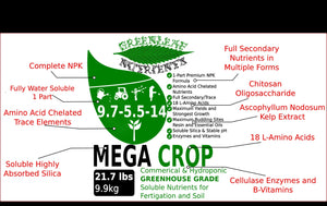 Mega Crop 21.7lb bag (9.9kg) 9900 grams VERSION 3.0