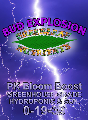 Bud Explosion 0-19-39 PK Booster 2500g Resealable bag