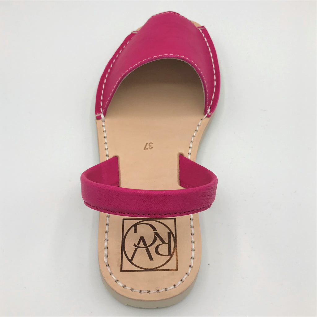 Pink leather sandal from RGV Styled