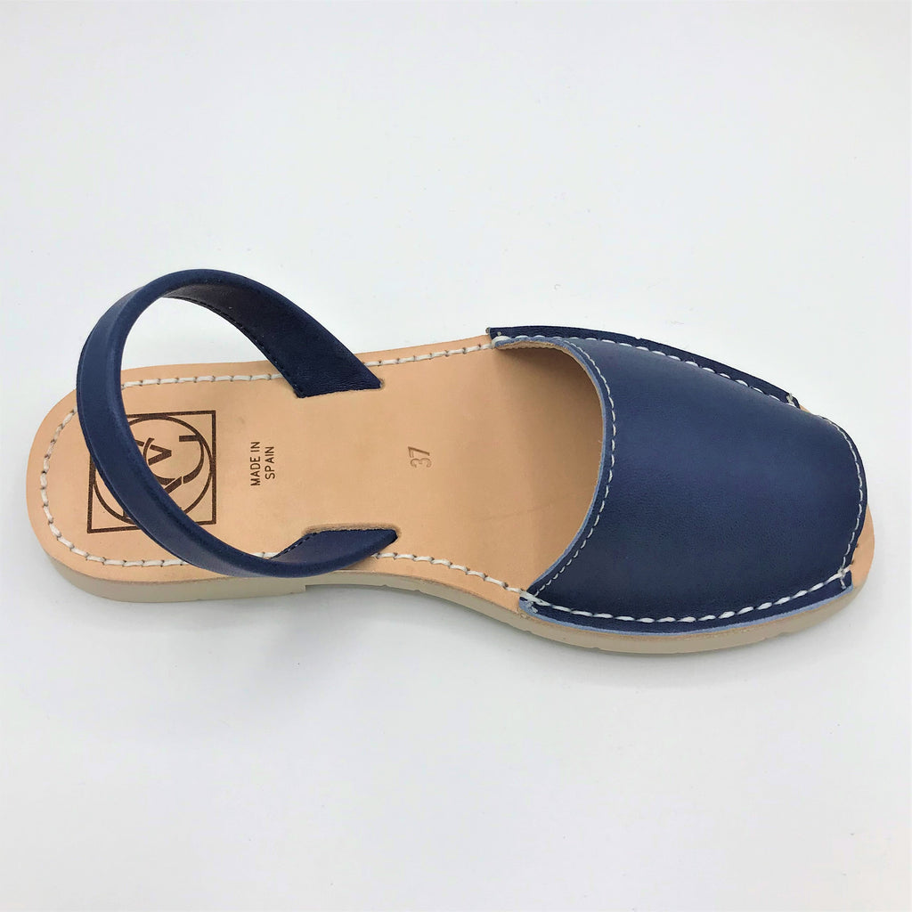 Blue leather sandal from RGV Styled