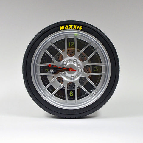 Tire Wall Clock 13 7/8""