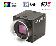 Blackfly 1.4 MP Color GigE PoE