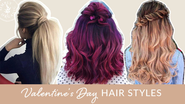 FORMULA FRIDAY: EASY, ROMANTIC VALENTINE'S DAY HAIR STYLES