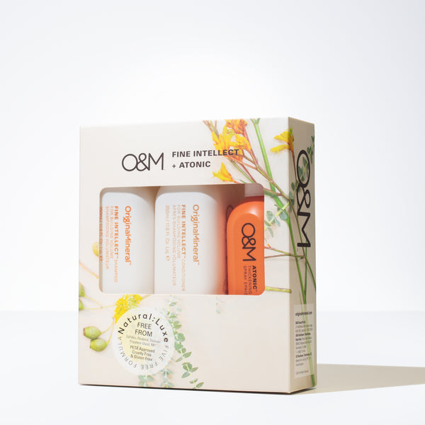 O&M Fine Intellect Spring Hair Care Gift Set