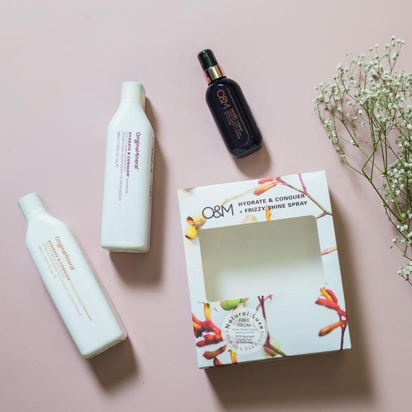 O&M Hydrate & Conquer Hair Care Gift Set