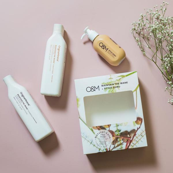 O&M Maintain the Mane Spring Hair Care Gift Set
