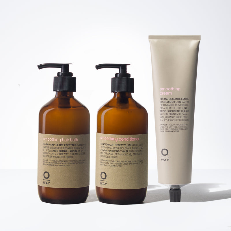 Oway Smoothing Kit for Thick Hair
