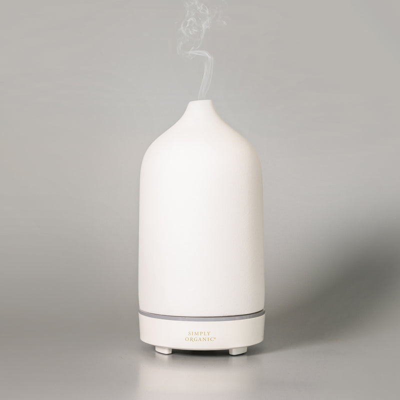Simply Organic Ceramic Essential Oil Diffuser  [SAVE 15%!]