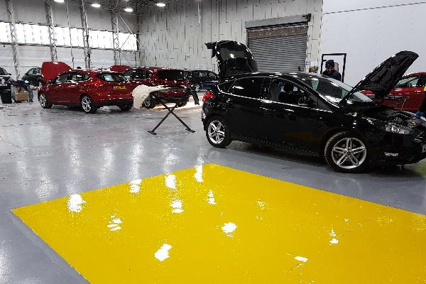 Garage and Showroom Paint