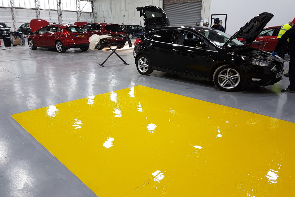 High Build Garage Floor Paint