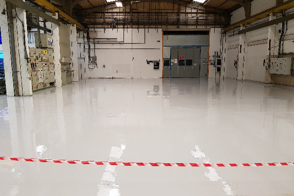 Heavy Duty Warehouse Epoxy Floor Paint - Fast Set