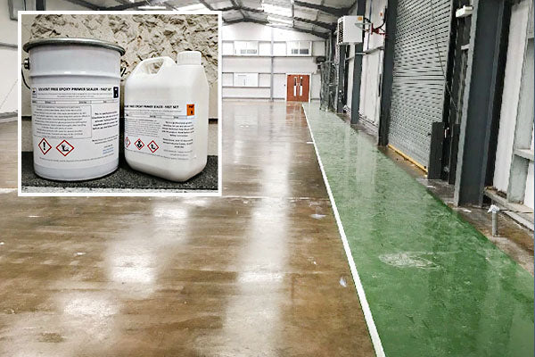 Solvent Free Epoxy Primer/Sealer - Fast Set  4-6 Hour