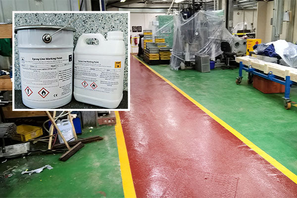 Epoxy Line Marking Paint