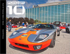 Ford GT National Rally 10 Commemorative Book - PRE-ORDER
