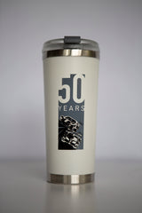 50 Years Celebration Steel Tumbler