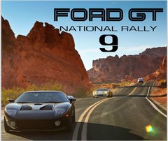 Ford GT National Rally 9 Commemorative Book & Photography USB Drive
