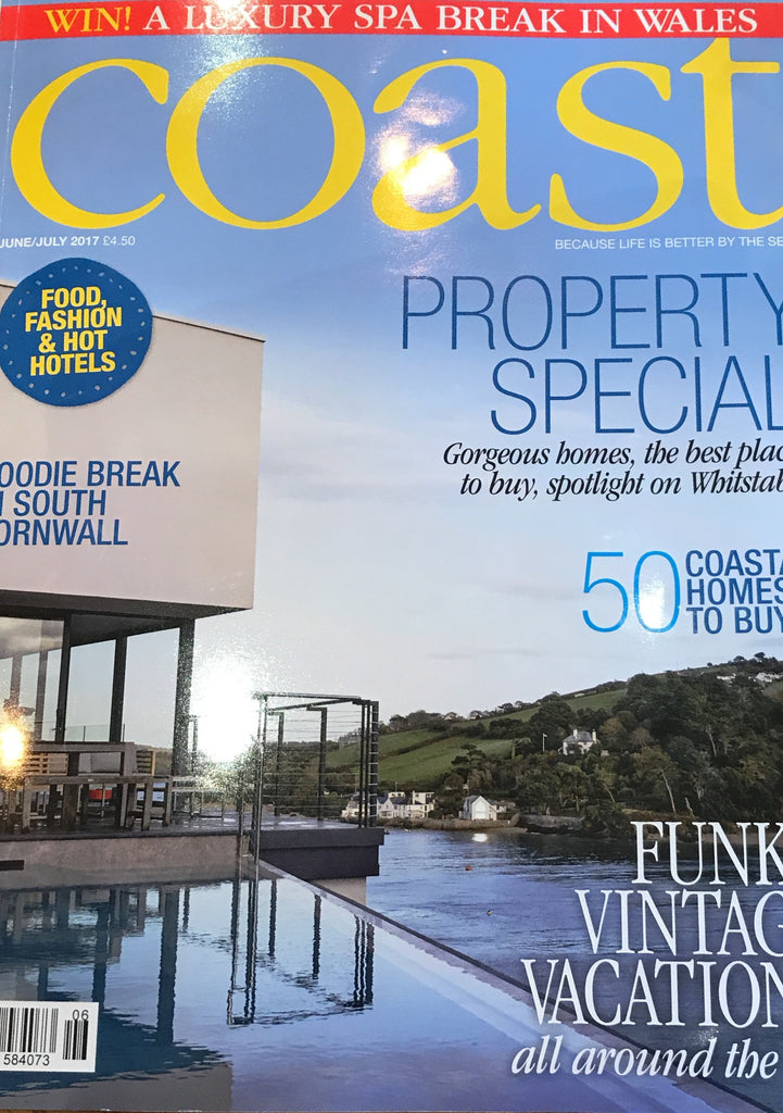 Coast Magazine - Receive a free Parkminster Ocean scented candle upon subscription