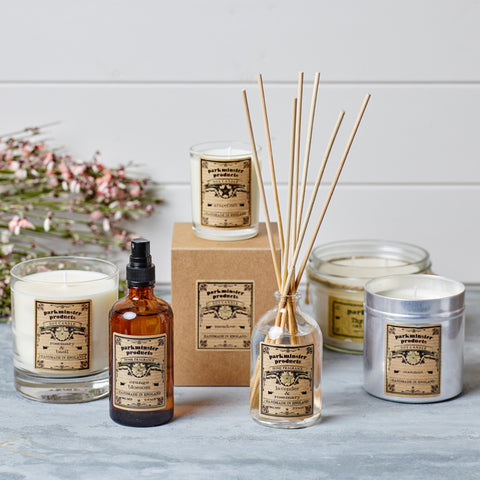 the Star Collection by Parkminster - Beautifully scented candles, reed diffusers, room sprays and soaps