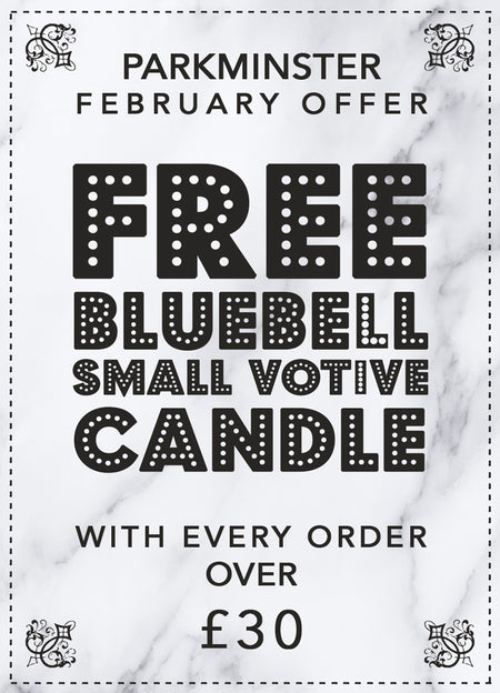 Bluebell Scented Candle Offer Parkminster Products