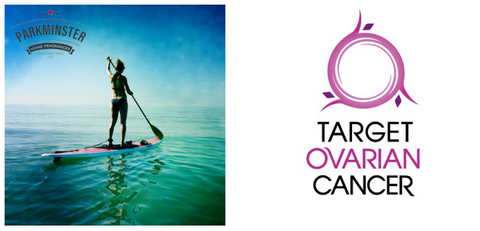 Krystyna Patey will be paddle boarding tghe River Thames for Target Ovarian Cancer