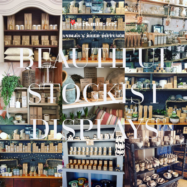 Parkminster Home Fragrance Products are available in over 300 stockists worldwide. Buy your next Parkminster reed diffuser or scented candle in one of our fab stockists just down the road from you. Give us a call on +44(0)1403713778 to find outr which is closest
