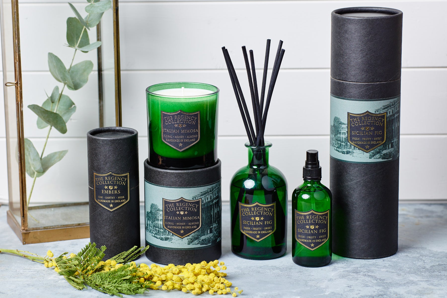 the Regency Collection by Parkminster - Scented Candles Room Sprays and Reed Diffusers