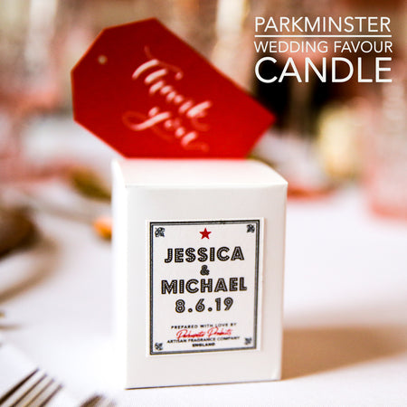 Wedding Favour - Scented Candles from Parkminster Products
