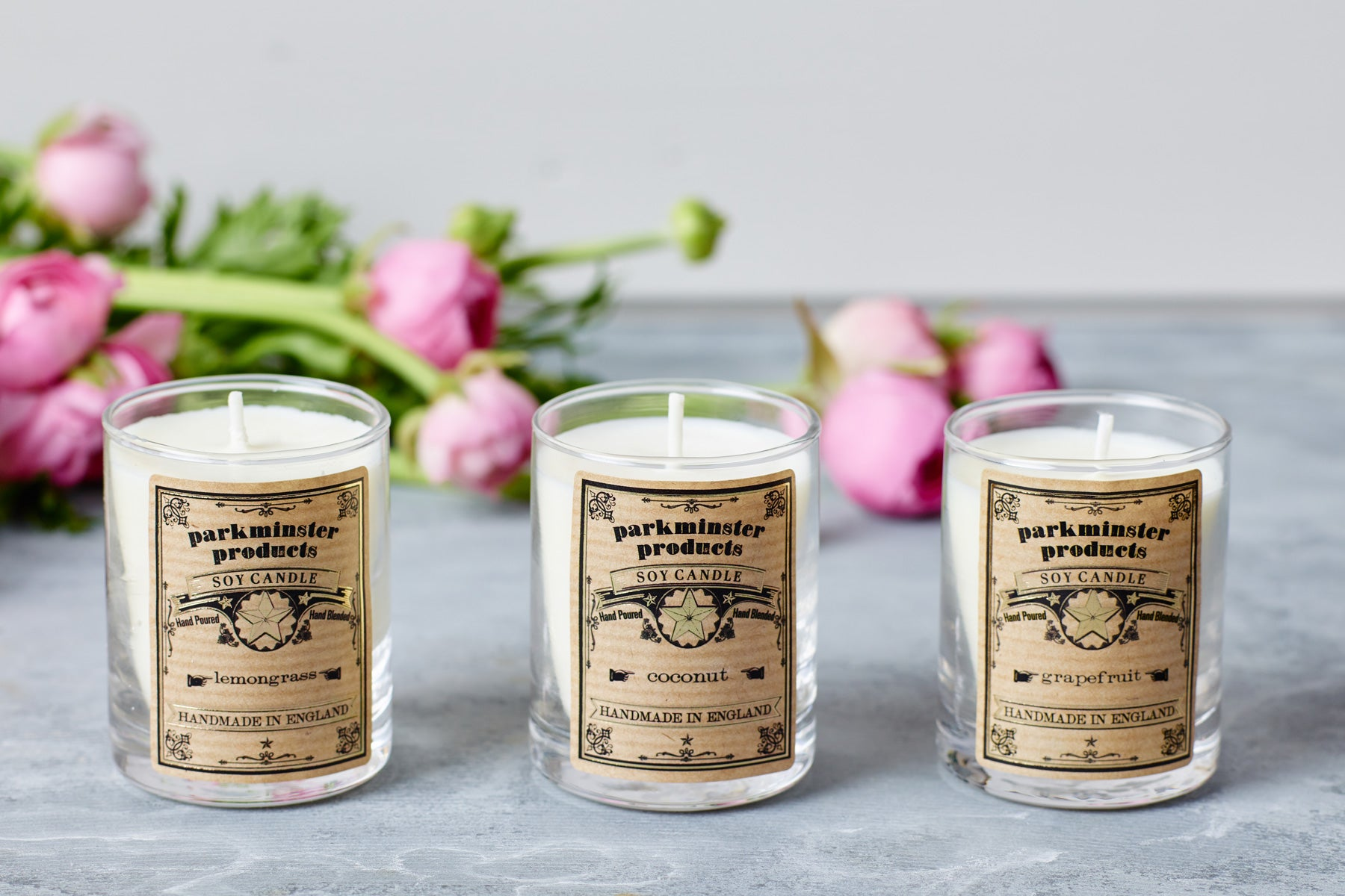 Parkminster Scented Votive Candle Triple Pack - Introduce three beautifiul scents to your home or give as a gift