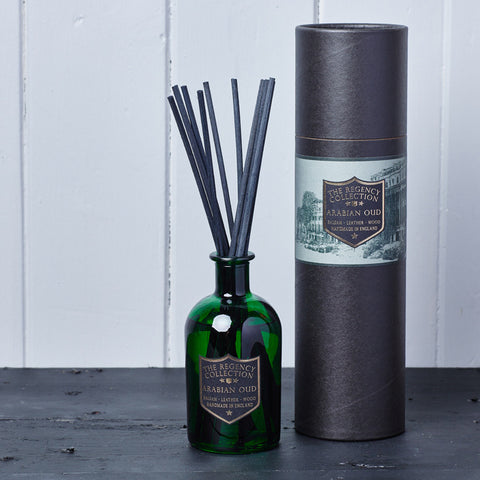 Arabian Oud Reed Diffuser - Regency Collection - Parkminster Products - Beautifully Scented Candles & Reed Diffusers for the Home